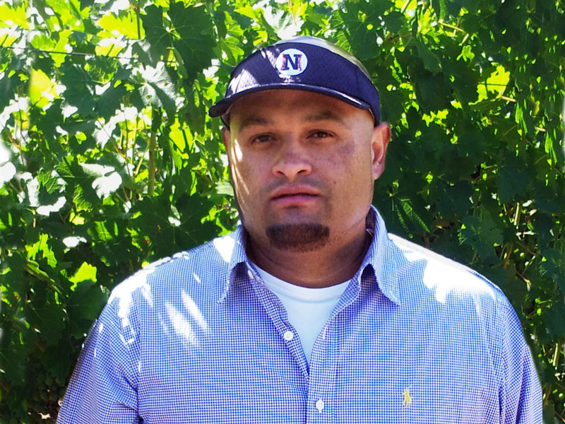 Hector Lopez, Vineyard Manager